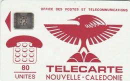 New Caledonia - Cagou (red) - NC-002 - New Caledonia