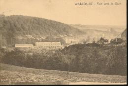 BELGIQUE WALCOURT VUE VERS LA GARE - Walcourt