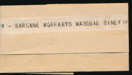 BELGIUM BELGIQUE WW1 TELEGRAM FROM HASSELT 1915 TO CINEY - [OC1/25] General Gov.