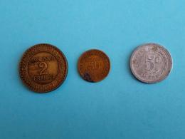 Lot De Pièces De Nécéssité 1921 - Monétaires / De Nécessité