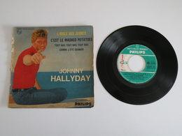 Johnny Hallyday - L'idole Des Jeunes / C'est Le Mashed Potatoes (1962) Philips - Collectors