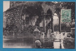 Ephese Vieille Mosquée Inondee Turquie Türkei Turkey Ed. Coyounian Smyrne Timbre Italien Surcharge 10 Para Smirne - Türkei