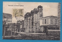 Ephese Souvenir D' Orient Turquie Türkei Turkey Ed. Carakizi Smyrne Smirne Timbre Turc CAD 1913 - Türkei