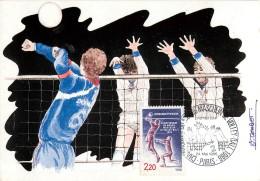 1ER JOUR - CHAMPIONNAT DU MONDE MASCULIN DE VOLLEY-BALL 1986 - Volleyball
