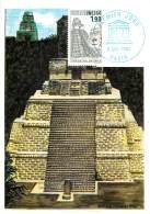 1ER JOUR -  UNESCO -  TEMPLE DE TIKAL - GUATEMALA - Cartes Postales