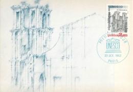 1ER JOUR -  UNESCO -  SAO MIGUEL - BRESIL - Cartes Postales