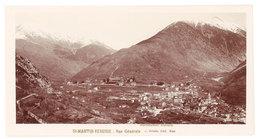 Grande Photo ( 14 X 17 Cms ) éditée Par Giletta : Saint Martin Vésubie - Vue Générale - Saint-Martin-Vésubie