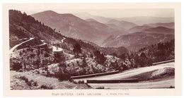 Grande Photo ( 14 X 17 Cms ) éditée Par Giletta : Route De Peira Cava - Les Lacets - Autres Communes