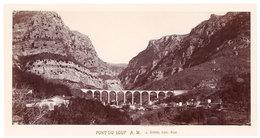 Grande Photo ( 14 X 17 Cms ) éditée Par Giletta : Pont Du Loup - France