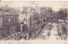 CPA - 168. Biarritz Place De La Liberté - Biarritz