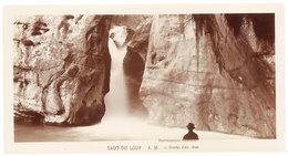 Grande Photo ( 14 X 17 Cms ) éditée Par Giletta : Saut Du Loup - France