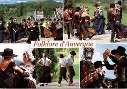 FOLKLORE D'AUVERGNE LES DANSES OU BOURREES ET LES COSTUMES TRADITIONNELS - Auvergne