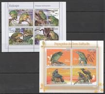 U956 2009 S.TOME E PRINCIPE FAUNA BIRDS KAKAPO PAPAGAIOS PARROTS 2KB MNH - Perroquets & Tropicaux