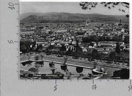 CARTOLINA VG ITALIA - FIRENZE - Panorama Da Bellosguardo - Villa Franchetti - 10 X 15 - ANN. 1953 - Firenze