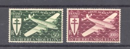 06958  -  Réunion  -  Avion  :  Yv  9-10  ** - Réunion (1852-1975)