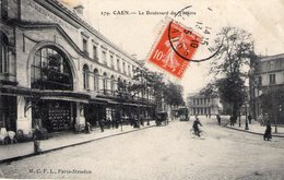 Cpa Caen 14 Calvados Le Magasin Renard Benoit Bld Du Theatre - Caen