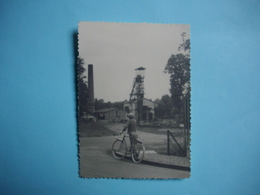 PHOTOGRAPHIE LA MACHINE - 58 - Puits Des Minimes  - 1961 -  9  X  12  Cms  -  NIEVRE - La Machine