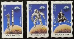 Moldavie - YT N°96 à 98 - EUROPA / L'Europe Et Les Découvertes - 1994 - Moldavie
