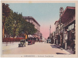11. CARCASSONNE. Boulevard Omer-Sarraut. 4 (garage Citroën) - Carcassonne