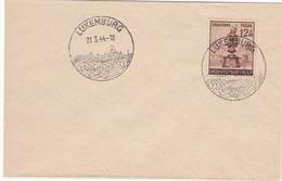 L 116 - Deutsches Reich Michel N° 886 Mit Stampel Luxemburg - 1940-1944 Deutsche Besatzung