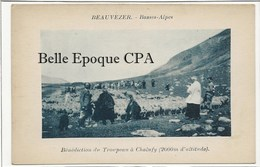 04 - BEAUVEZER - Bénédiction Du Troupeau à Chalufy - 2000 M. ++++ Sans éditeur ++++ - Autres Communes