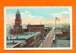 LISBON Postcard LEWISTON ME Lisbon Street 1910years USA - Lewiston