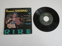 Fernand Raynaud - Le 22 à Asnières, Dry / Deux Croissants, Les Oeufs Pas Cassés (1956 Philips - Humour, Cabaret