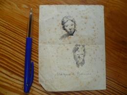 CROQUIS LUDOVIC BAUES (peintre Liégeois) - Drawings