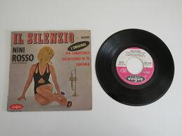 Nini Rosso - Il Silenzio, Via Caracciolo / Hobisogno Dite, Sinfonia (1965) Vogue - Sonstige - Italienische Musik