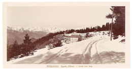 Grande Photo ( 14 X 17 Cms ) éditée Par Giletta : Peira Cava - Sports D'Hiver - France