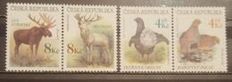 Czech Republic, 1998, Mi: 178/81 (MNH) - Animalez De Caza
