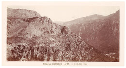 Grande Photo ( 14 X 17 Cms ) éditée Par Giletta : Village De Gourdon - Gourdon