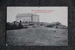 LE MALZIEU Ville - Chapelle De Saint Pierre Le Vieux. - Autres Communes