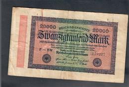 Germania Germany 1922 20000 Mark Bb  LOTTO 505 - 5 Mark