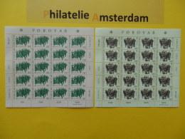 Foroyar 1981, FULL SHEETS / EUROPA CEPT: Mi 63-64, ** -KB - Europa-CEPT