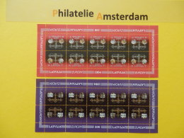 Latvia 1994, FULL SHEET / EUROPA: Mi 376-77, ** -KB - Europa-CEPT