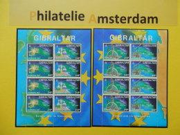 Gibraltar 1994, FULL SHEET / EUROPA /ARTS: Mi 683-86, ** -KB - Europa-CEPT