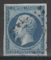 France - YT 14B Oblitéré TB - 1853-1860 Napoleon III