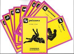 HOROSCOPE-DORCHY Série Zodiaque  (Erotisme Sexualité Sexe Humour )Lot De 12 Cartes CPM- Scan R/V 12 Cartes-*PRIX FIXE - Autres Illustrateurs