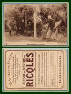 CPA PUB Ricqlès Soldats Prenant L'eau De La Source Guerre 1914 état Voir ! (à Localiser) - Guerre 1914-18