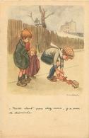 Illustration Signée  Poulbot -  Noél Vient Pas Chez Nous ,y A Pas De Cheminée  ,jouets           S 1085 - Poulbot, F.
