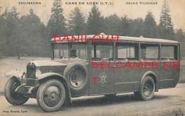 69 // LYON    CARS DE LUXE Omnibus Et Tramways De Lyon, 1 Quai Jules Courmont,   GRAND TOURISME / PHOTO PACALET / - Lyon