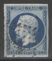 France - YT 14Aa Oblitéré PC TB - 1853-1860 Napoleon III