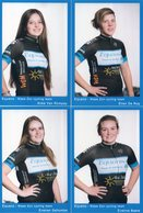Cyclisme, Serie Equano Dames 2018, 14 Cartes - Wielrennen