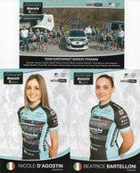 Cyclisme, Serie Eurotarget Dames 2018, 11 Cartes - Wielrennen