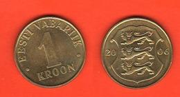 ESTI Estonia 1 Kroon 2006 - Estonia