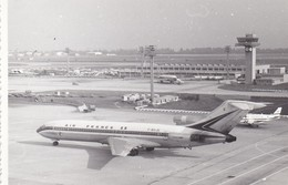 PHOTO----AVIATION--AVION AIR FRANCE 1971--voir  2 Scans - Aviation