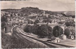 Yvelines  : MEULAN  :  Panorama , Ville  , Gare - Meulan
