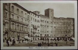 SIENA Piazza Del Campo - Viaggiata Nel 1941 Formato Piccolo - Siena