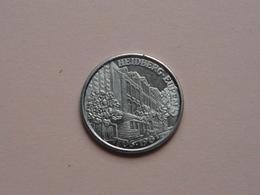 HEIDBERG EUPEN - 1981 ( Heidbergensis ) Zilverkleurig ! - Gemeentepenningen